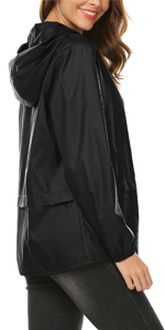 rain jacket women lightweight