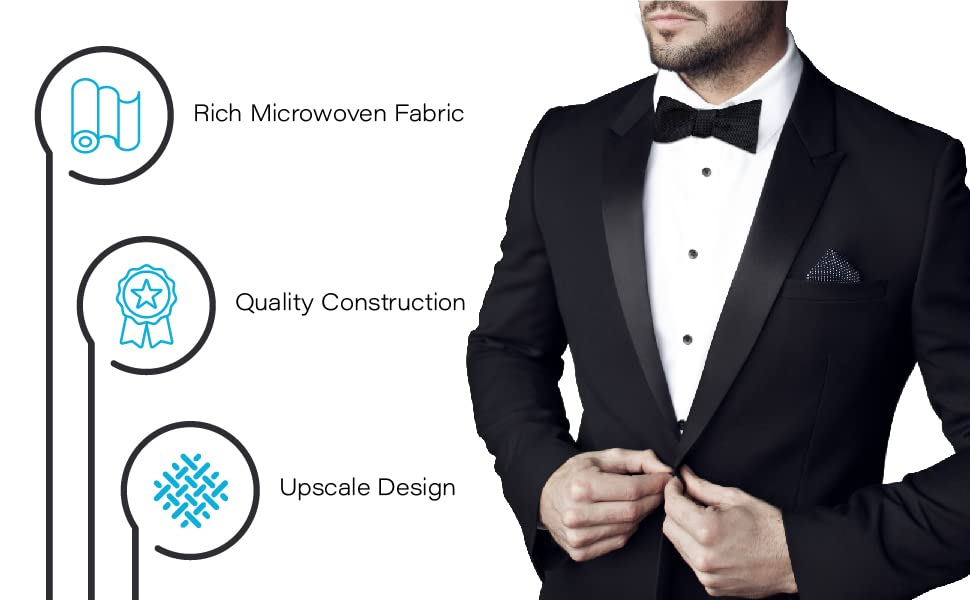 Rich Microwoven Fabric. Quality Construction. Upscale Design