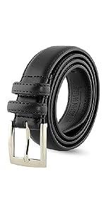 Leather Belts For Men - Mens Brown & Black Belt - Dress Casual Men's Belt