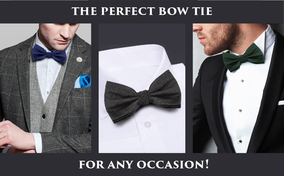 the Perfect Bow Tie for any Occassion