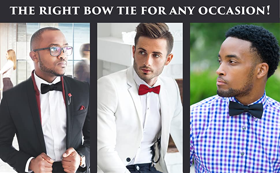 The right bowtie for any occasion