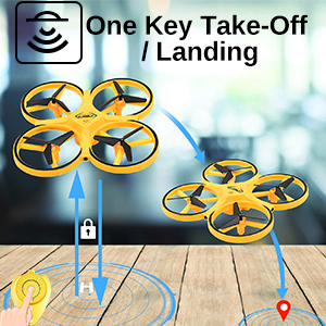 Mini Drone RC Quadcopter for Kids
