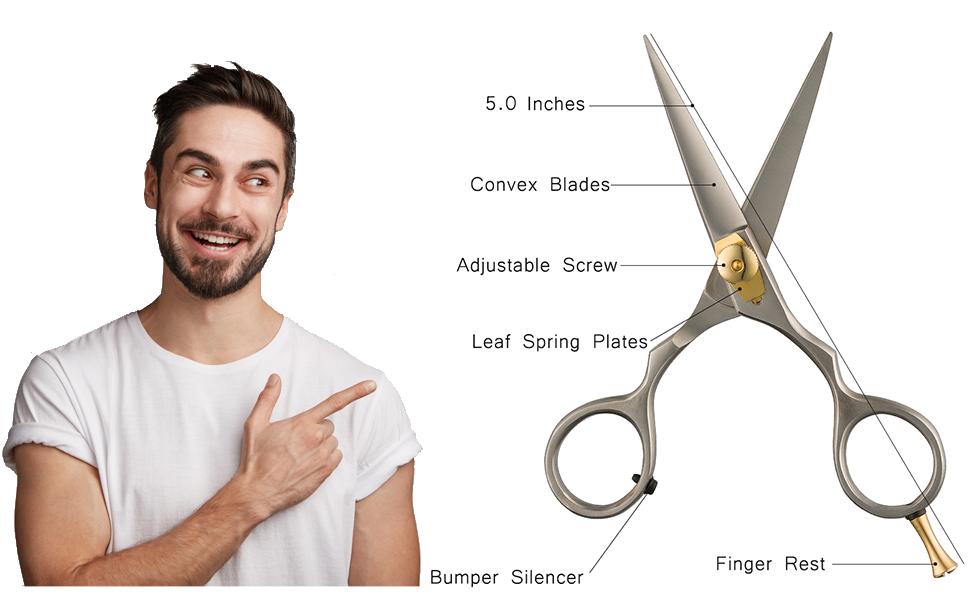 Beard shears