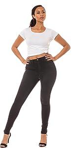 ap blue aphrodite skinny jeans high waisted basic mid rise high rise