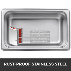 Rust-Proof Stainless Steel