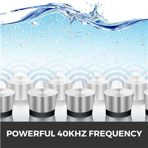 Powerful 40KHz Frequency