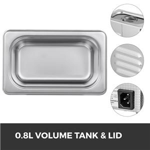 0.8L Volume Tank & Lid