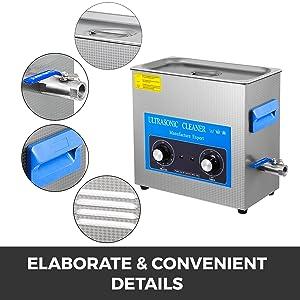 Elaborate & Convenient Details