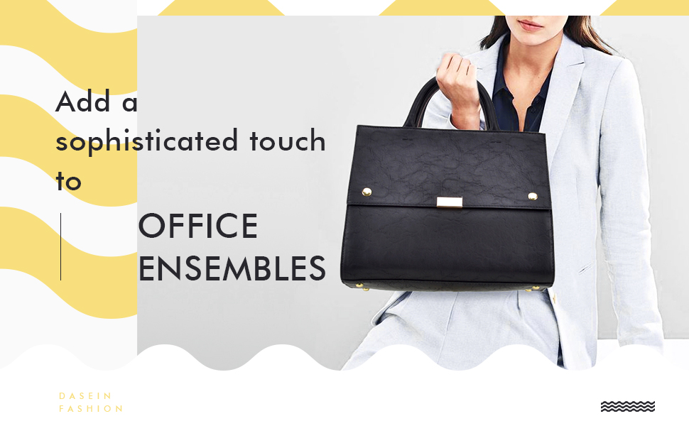 Topform Design Bank.Amazon Com Dasein Handbag For Women Classic Satchel Briefcase