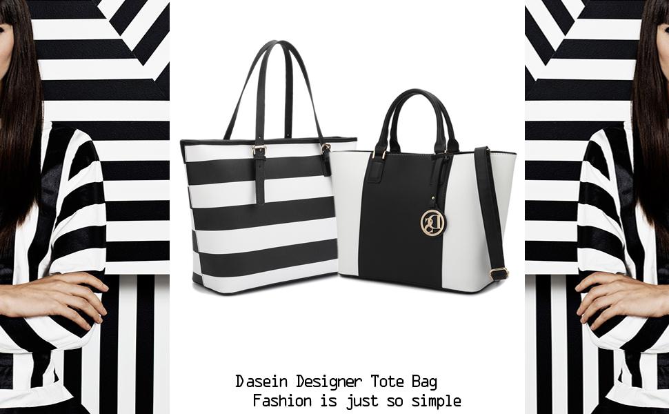 dasein padlock large tote bag laptop work bag - Large Tote Bags