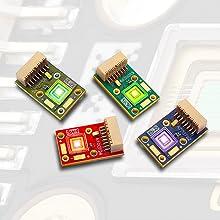 Quad-Cast LEDs