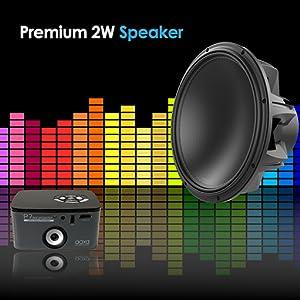 Premium 2W Speaker