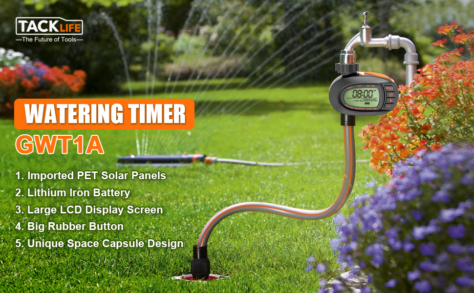 Watering Equipment Hose Timers Single Outlet Automatic and Manual ...