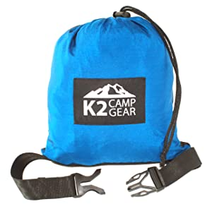 Amazon Com K2 Camp Gear Original Double Camping Hammock
