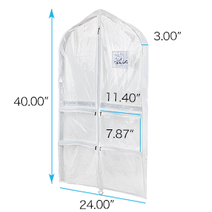 Clear PVC Dance Costume bags