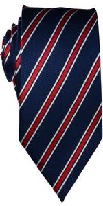 blue red tie