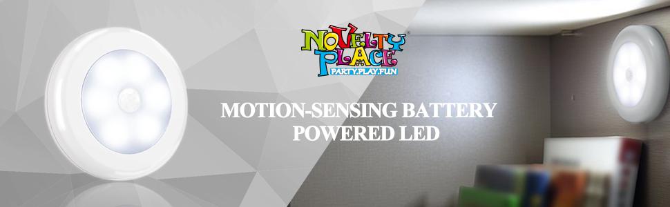 Novelty Place motion sensor light