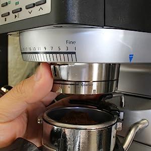 Grind Adjustment, 270Wi, Espresso