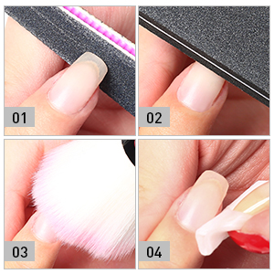 how to prep nails