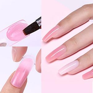 poly nail gel kit modelones