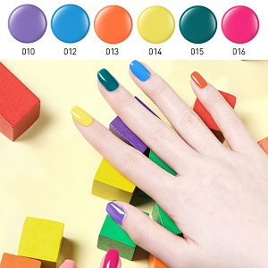 candy gel nail colors