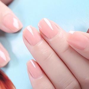 poly nail gel pink