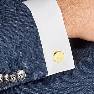 men cufflinks