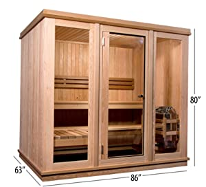 Amazon.com : Almost Heaven Saunas Bridgeport Indoor Sauna
