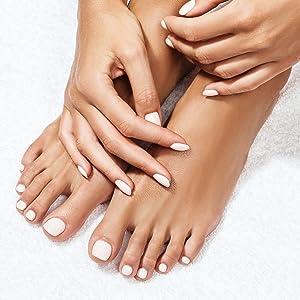 feet hands healthy skin