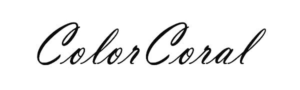 ColorCoral Silicone Dust Sticker
