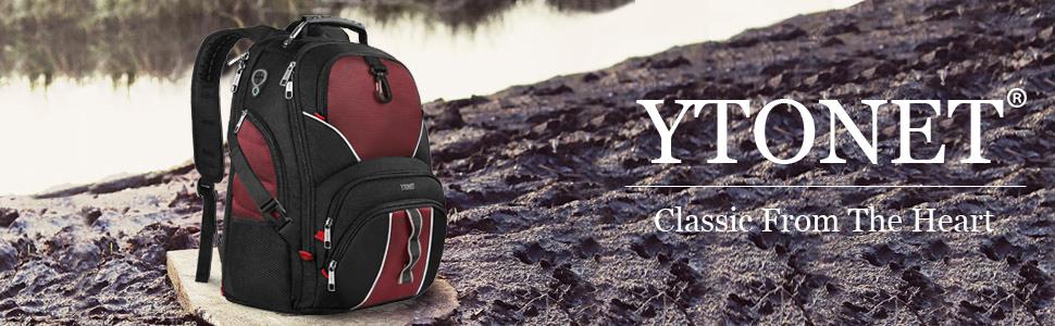college computer bag / school laptop backpack / tsa scansmart backpack / black roomy backpack