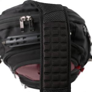 Ultra wide shoulder straps  Comfortable shoulder strap  Soft shoulder strap /backpack shoulder strap