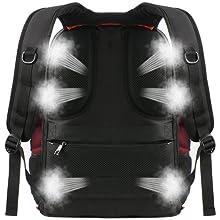 water resistant school bookbag /college computer bag / school laptop backpack / tsa backpack
