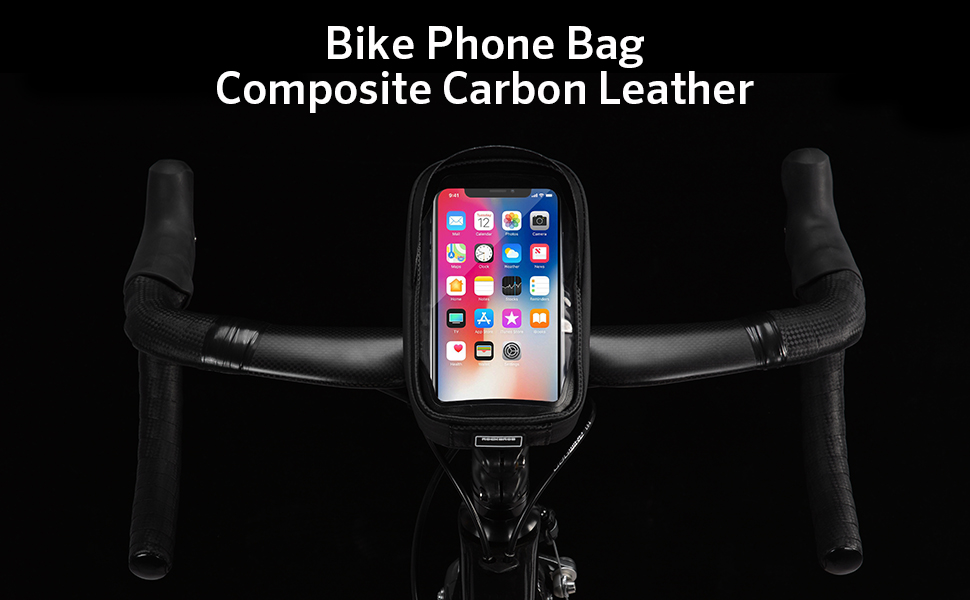 ROCK BROS Bike Phone Bag Waterproof Handlebar Bicycle Phone Case
