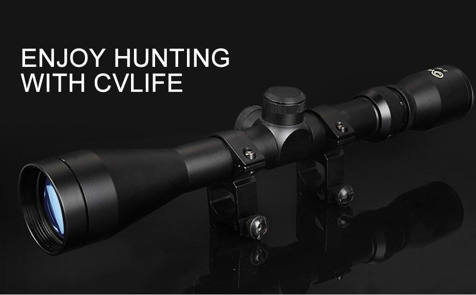 CVLIFE 3-9X40 SCOPE OPTICS