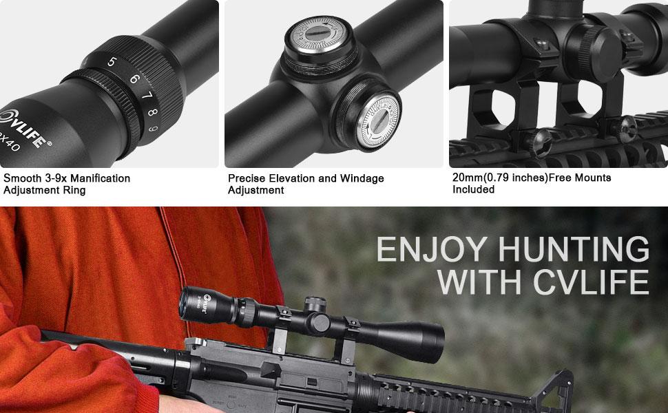 Amazon cvlife tactical optics r reticle crosshair