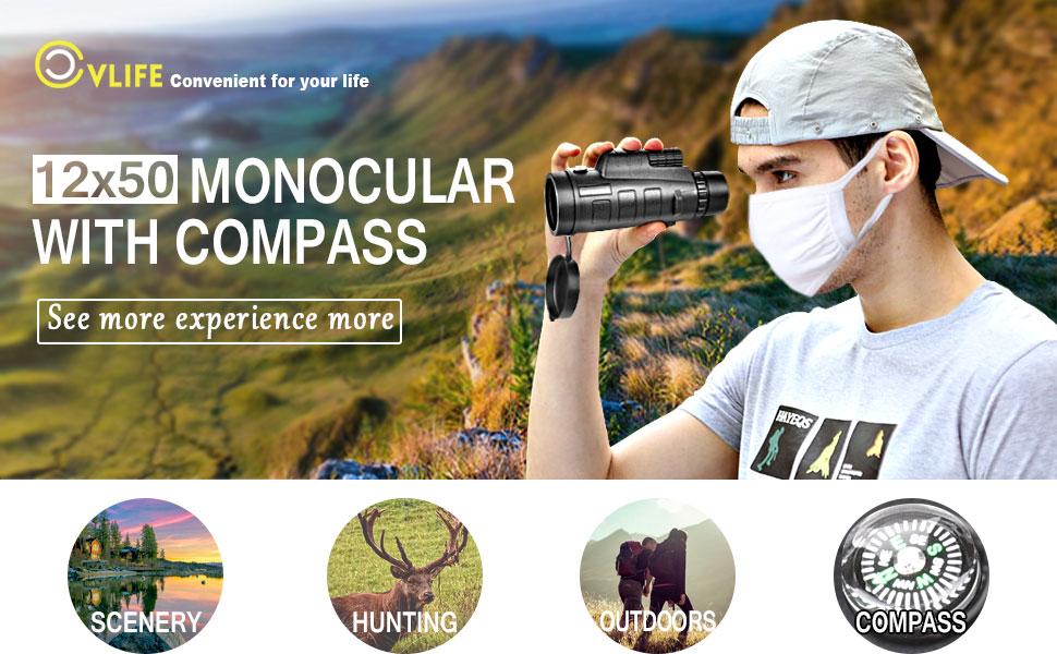 Amazon cvlife compact monocular telescope pocket mono