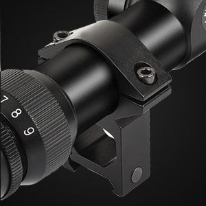 CVLIFE 3-9x40 Optics R4 Reticle Crosshair scope with 20mm Free Mounts