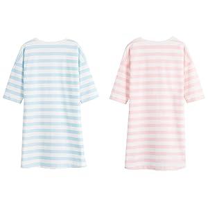 1a733f17e7 Amazon.com  Allmeingeld Girls  Kitty Nightgowns Cat Sleep Shirts ...