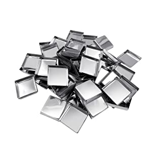 56 Pack Empty Square Metal Pans