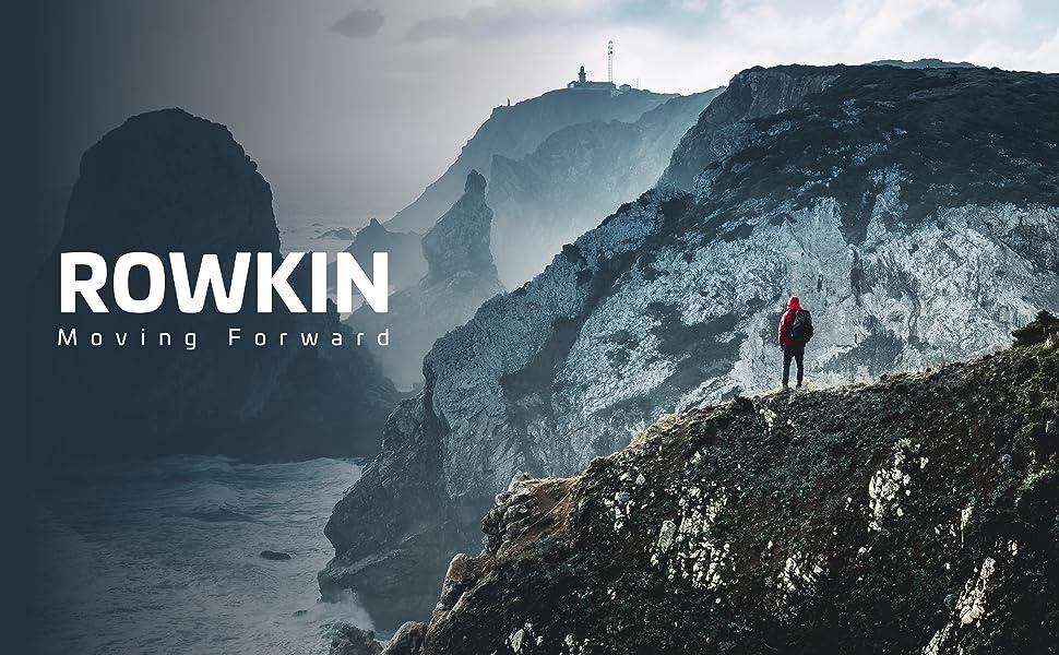 Rowkin - Tiến lên phía trước |  Đậm, quyết tâm, tự tin, không sợ hãi