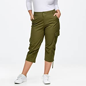 387ef04993d cargo capri khaki olive green fatigue military surplus pockets casual white  sneakers hiking