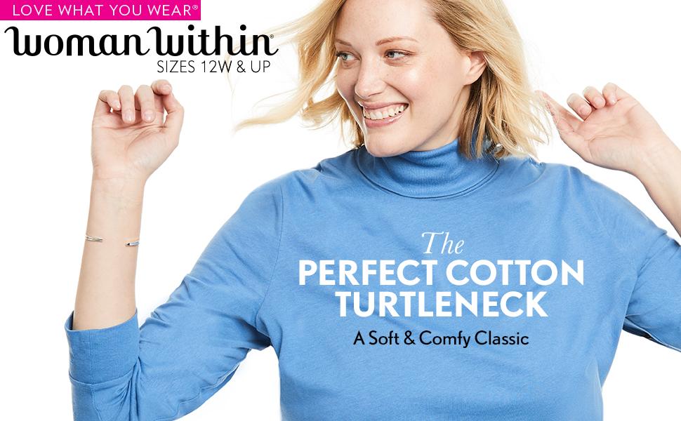 Perfect Cotton Turtleneck