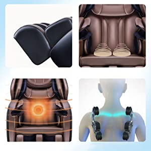 massage chairs full body and recliner