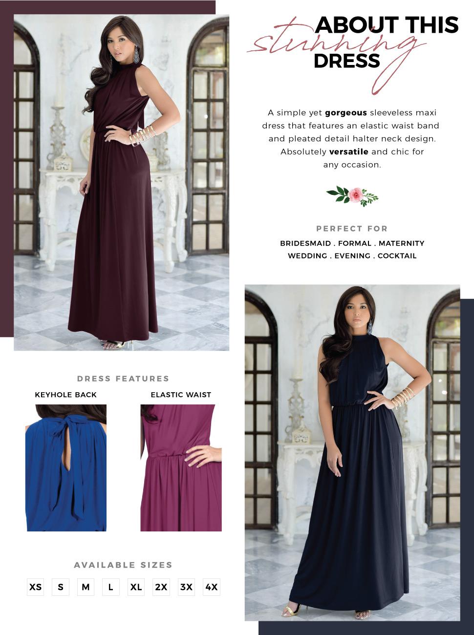 womens ladies elegant stunning maxi dress midi dresses jumpsuits offshoulder maternity evening style