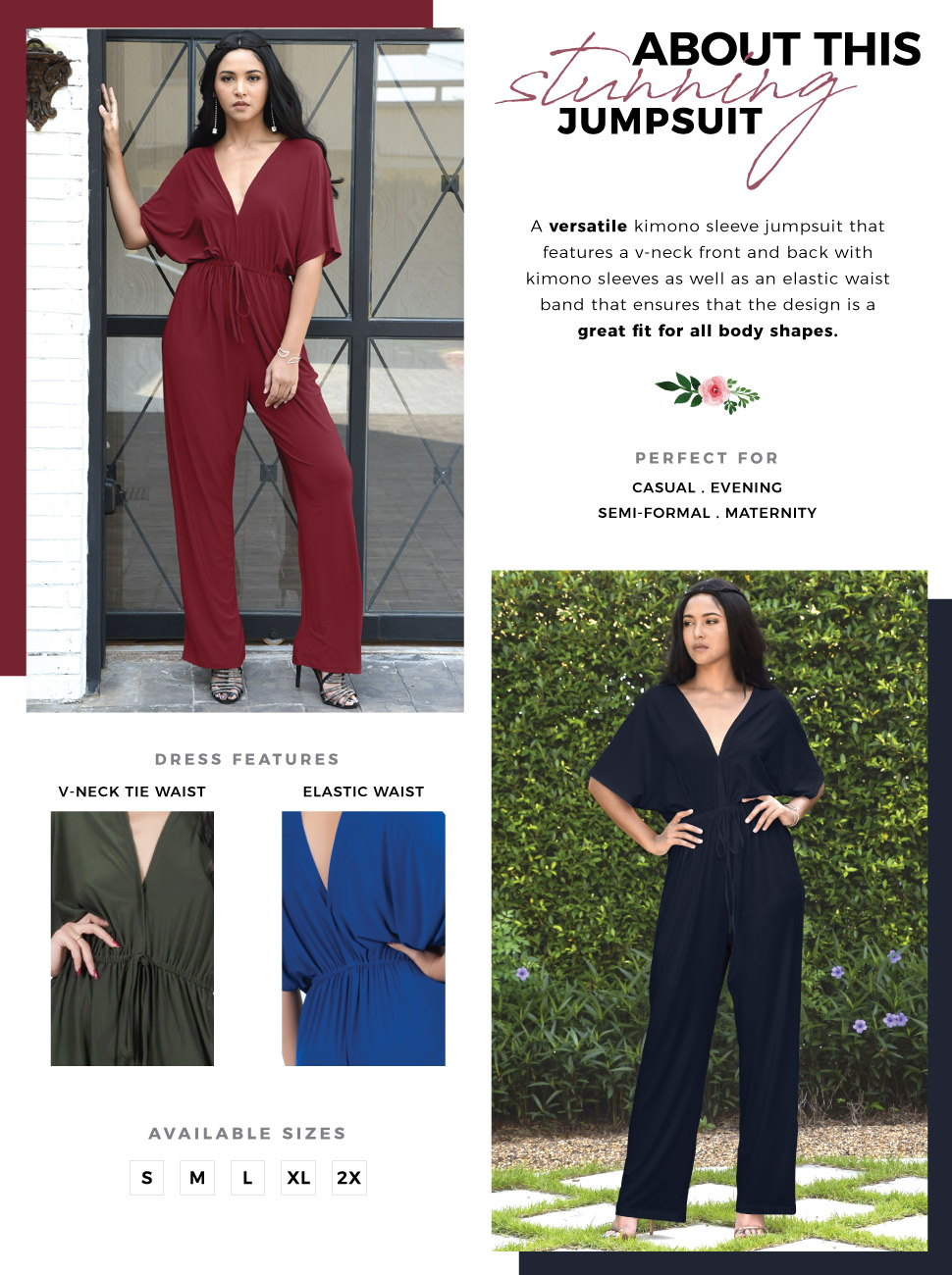 38476ffd7c62 Womens Short Kimono Sleeve One Piece Jumpsuit Cocktail Romper Pant Suit