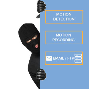 ip security camera motion detection