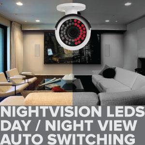 poe ip camera nightvision