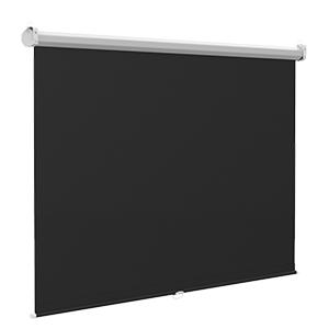 Black PVC backing material