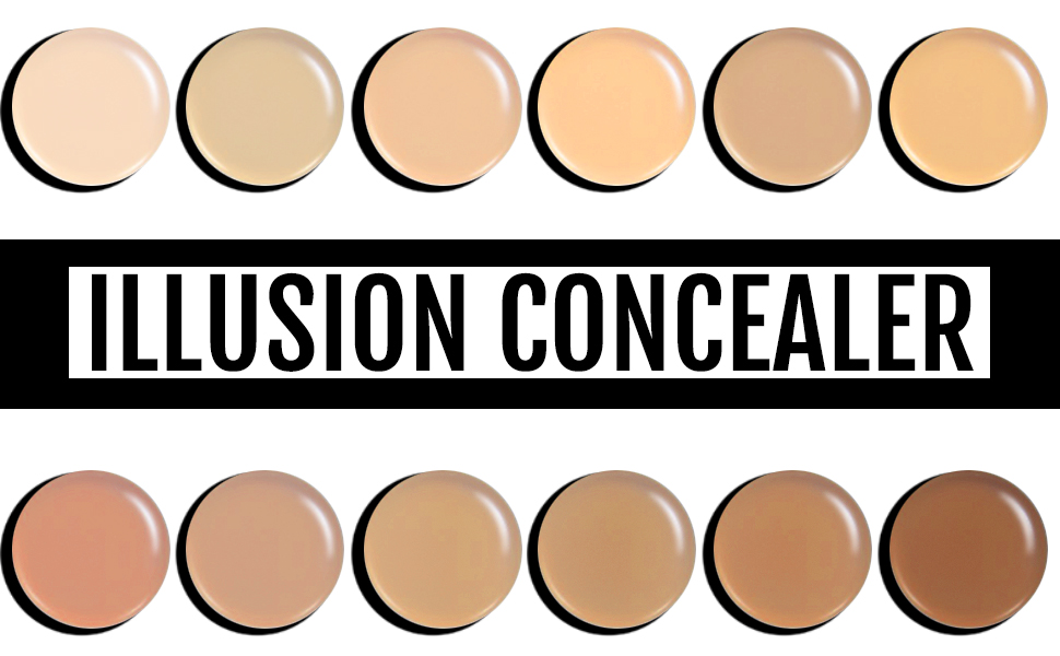 Illusion concealer